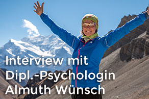 Interview mit Diplom-Psychologin Almuth Wünsch zum Thema Trekking in Nepal