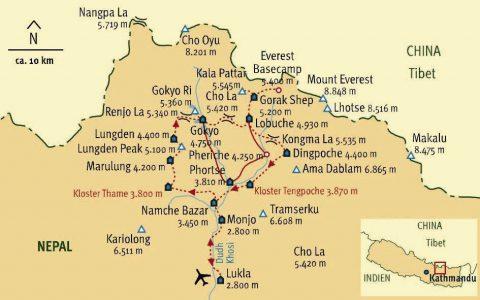Route des Drei Pässe Trek